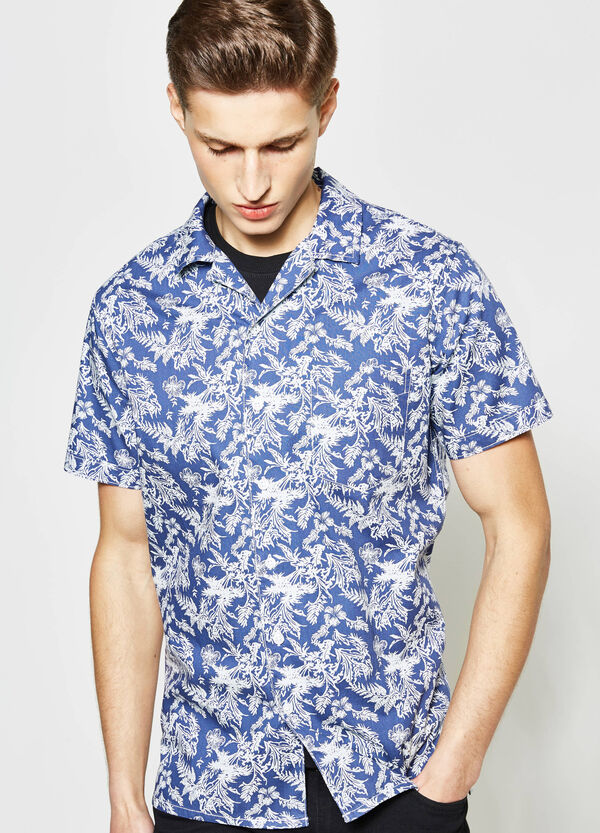 G&H casual shirt with all-over print | OVS