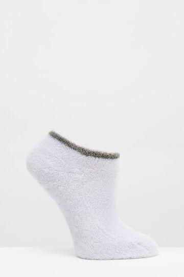 Set due paia di calze antiscivolo, Nero/Bianco, hi-res