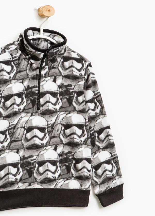 Star Wars patterned fleece sweatshirt | OVS