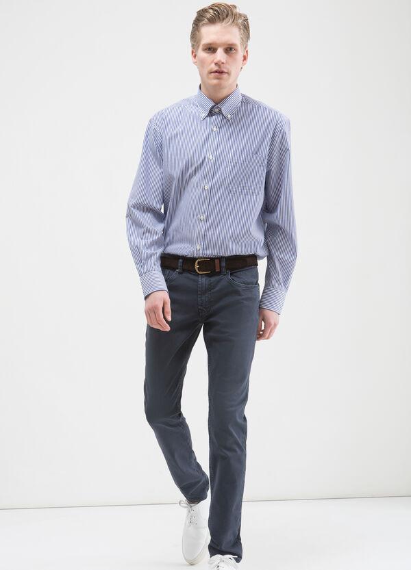 Camicia a righe regular fit | OVS