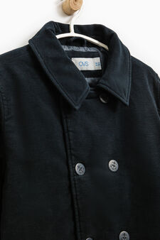 Jacket with button fastening, Blue, hi-res