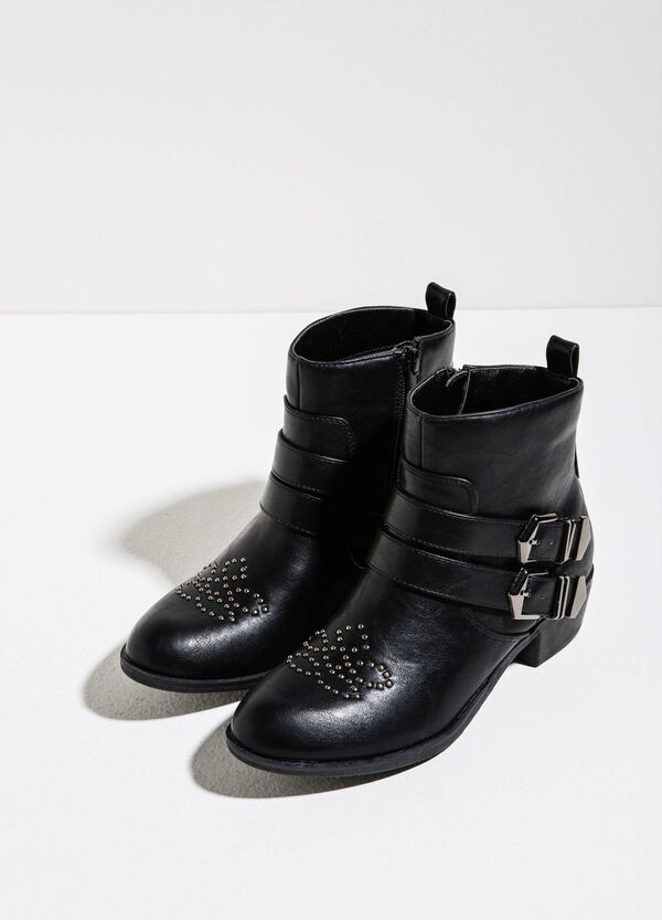 Ankle boots with studs | OVS