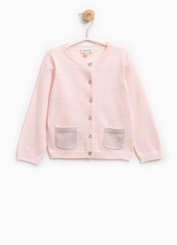 Cardigan tricot doppio taschino | OVS