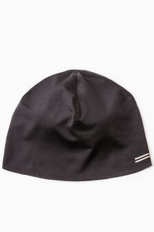 Plain sports cap, Black, hi-res