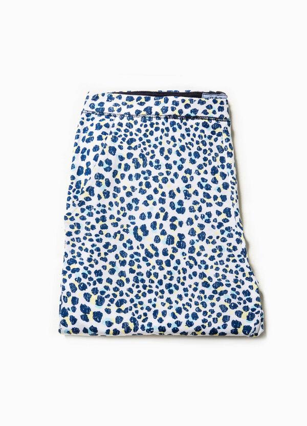 Pantalón de pijama con estampado de leopardo | OVS