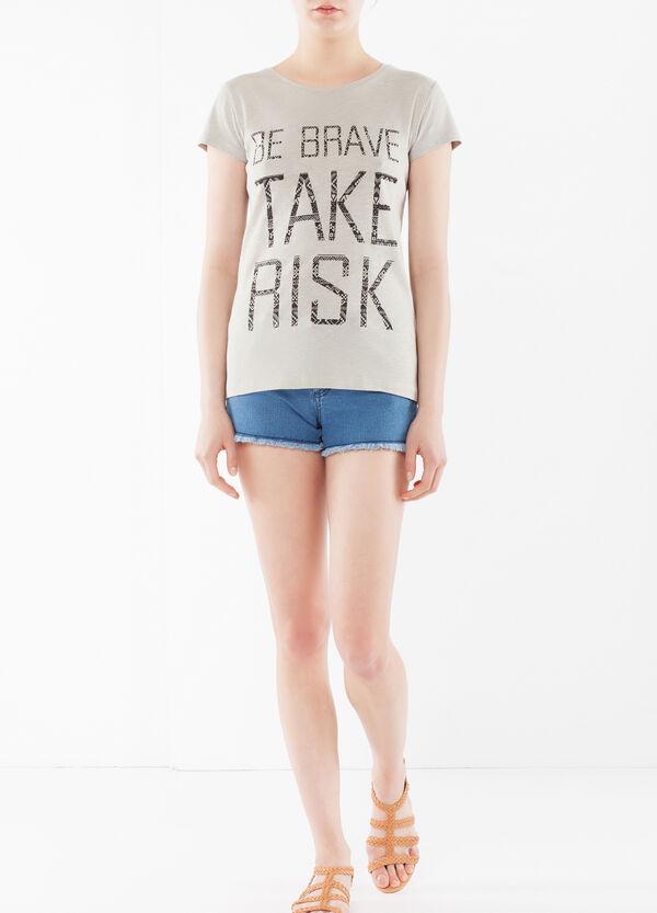 T-shirt con motto | OVS