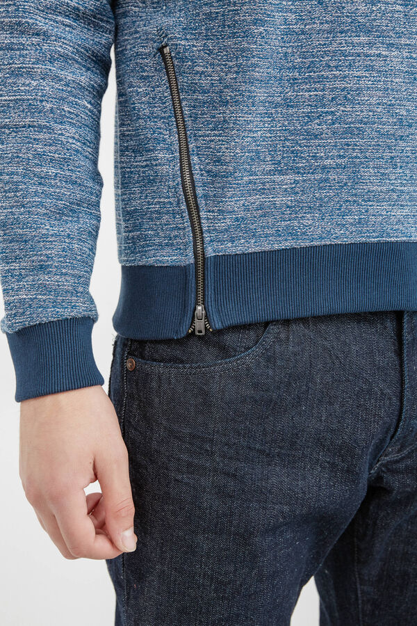 Knitted pullover with zip | OVS