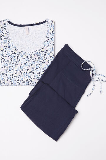 100% cotton pyjamas with floral print