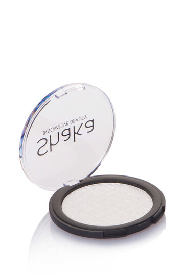 Compact powder with silky finish, White, hi-res