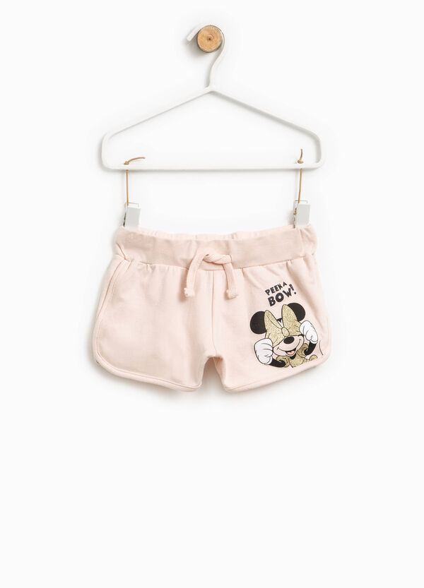 Shorts in cotone con stampa Minnie | OVS