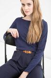 Solid colour T-shirt in 100% cotton, Multicolour, hi-res