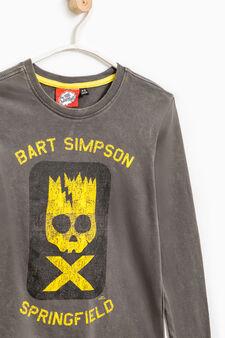 100% cotton The Simpsons T-shirt, Slate Grey, hi-res