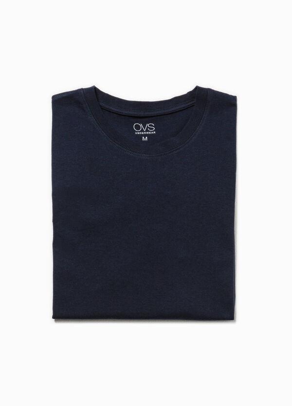 Camiseta interior de algodón con cuello redondo | OVS
