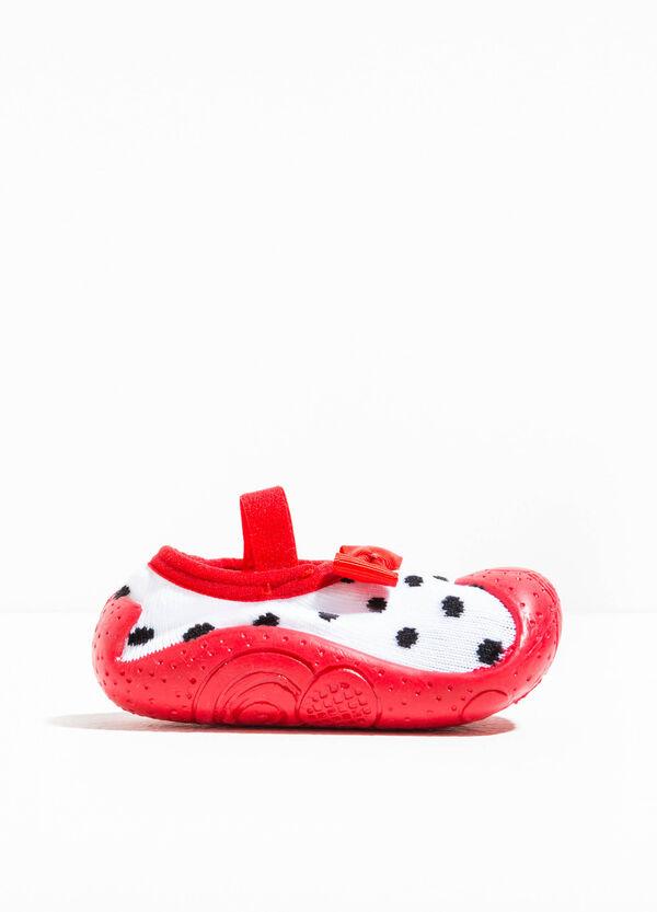 Pantofole calzino con fiocchetto | OVS