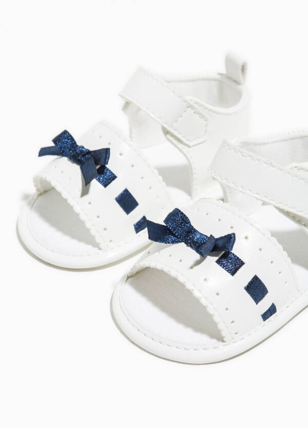 Fabric sandals with bow | OVS