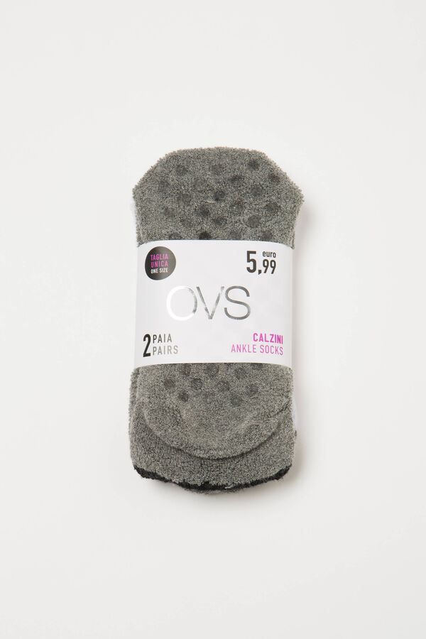 Two-pair pack of slipper socks | OVS