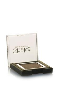 Compact eyeshadow with metal effect, Mud Brown, hi-res
