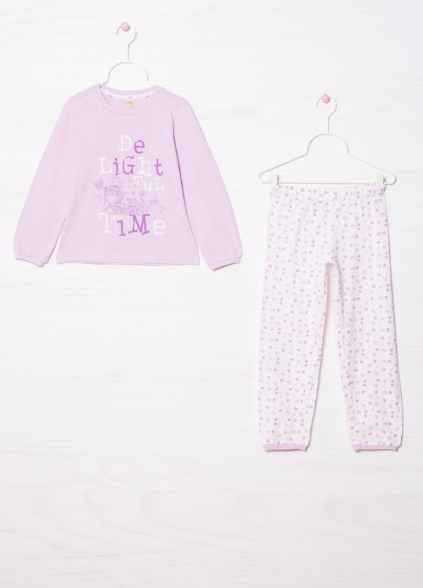 Printed pyjamas in 100% cotton   OVS
