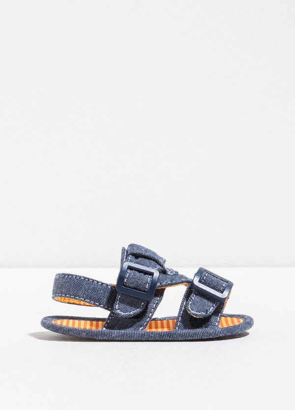Sandalias con interior de rayas | OVS