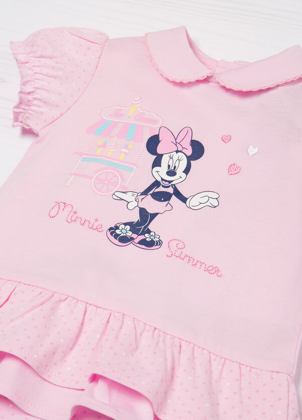 Minnie Mouse 100% cotton bodysuit | OVS