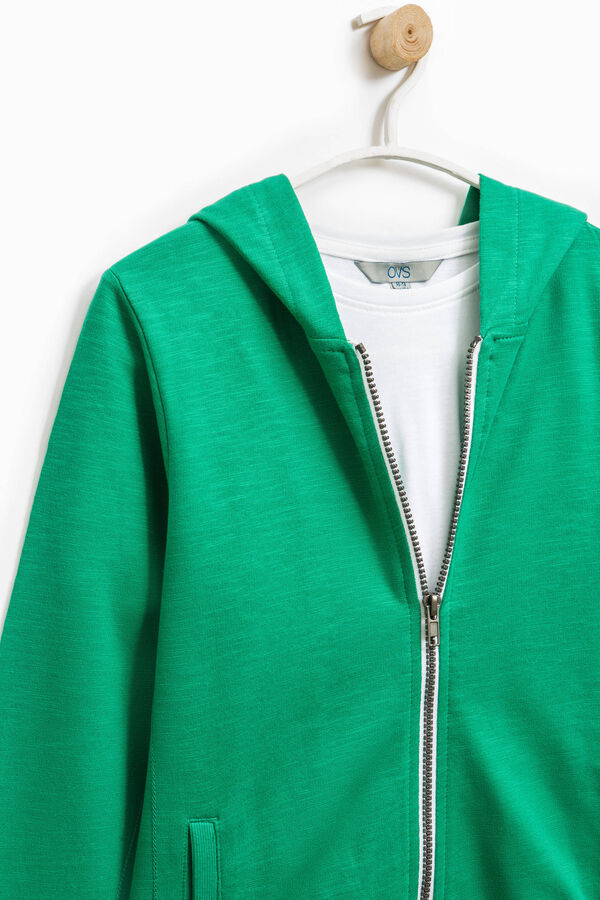 Completo puro cotone felpa e t-shirt | OVS