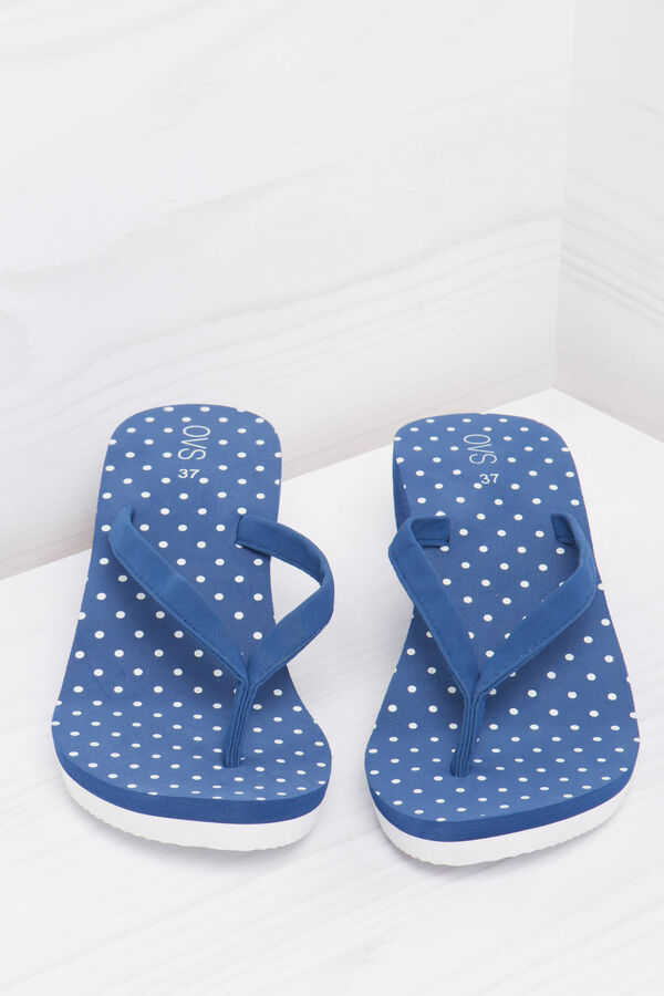 Polka dot pattern thong sandals | OVS