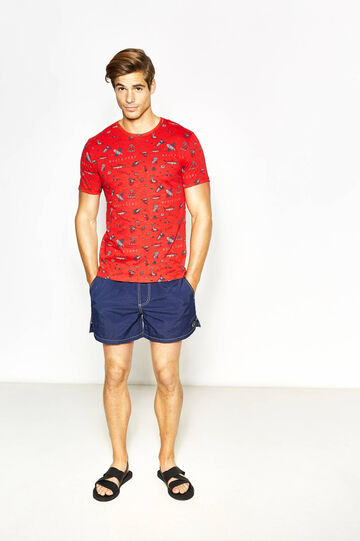 T-shirt stampa all-over Maui and Sons