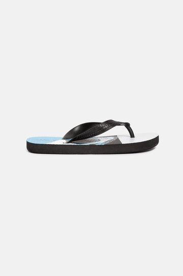 Shark flip-flops, Black, hi-res