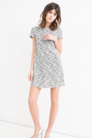 Stretch patterned dress
