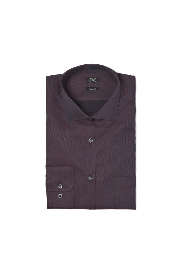 Patterned slim-fit shirt | OVS