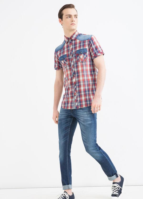 G&H tartan shirt in 100% cotton | OVS