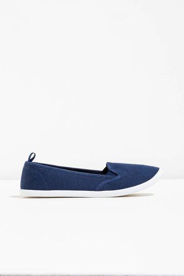 Slip-on con suola a contrasto, Blu, hi-res