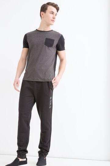 Pantaloni tuta puro cotone