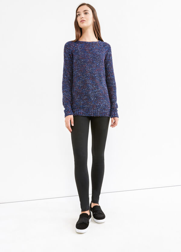 Long pullover with boat neck | OVS