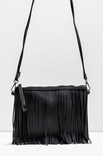 Clutch with fringes
