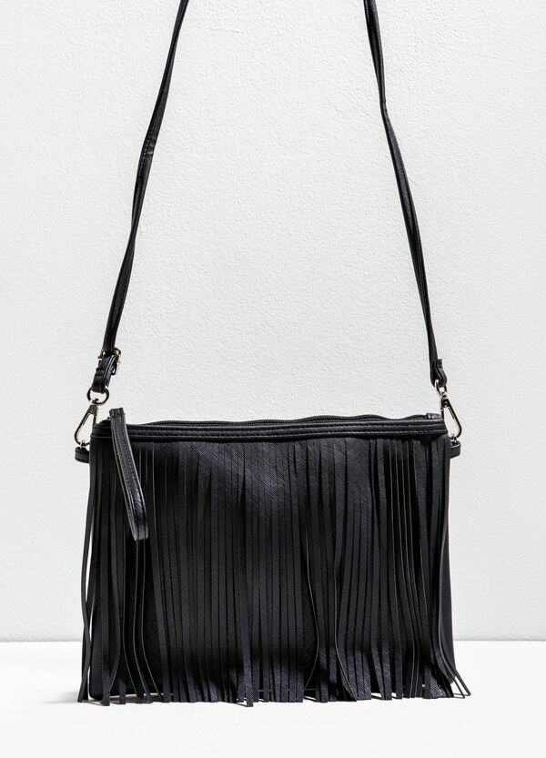 Clutch with fringes | OVS