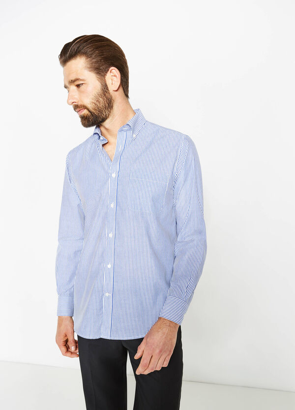 Regular-fit striped formal shirt | OVS