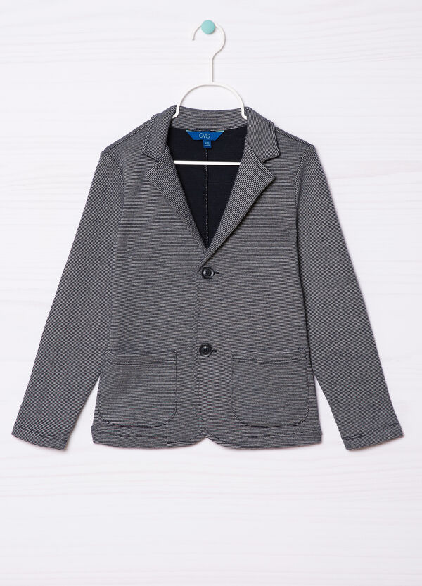 100% cotton jacket with pockets | OVS