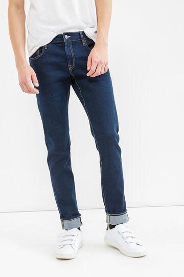 Jeans skinny fit stretch tinta unita, Denim, hi-res