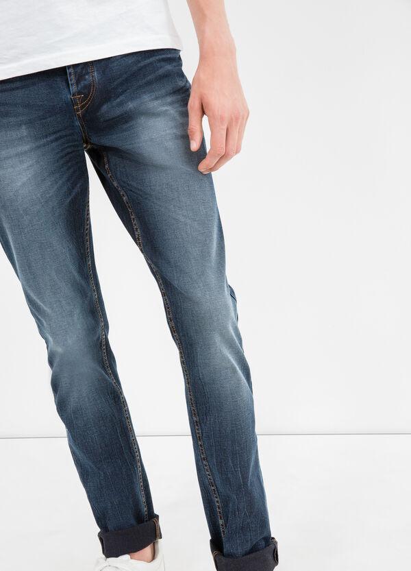Jeans stretch used con baffature | OVS