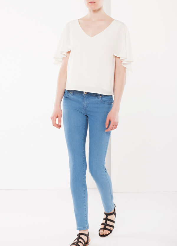 Draped sleeves blouse | OVS