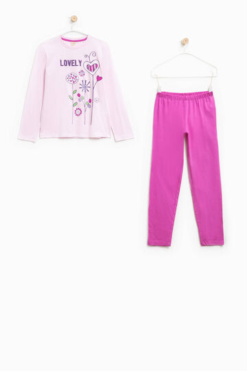 100% Biocotton pyjamas, Multicolour, hi-res