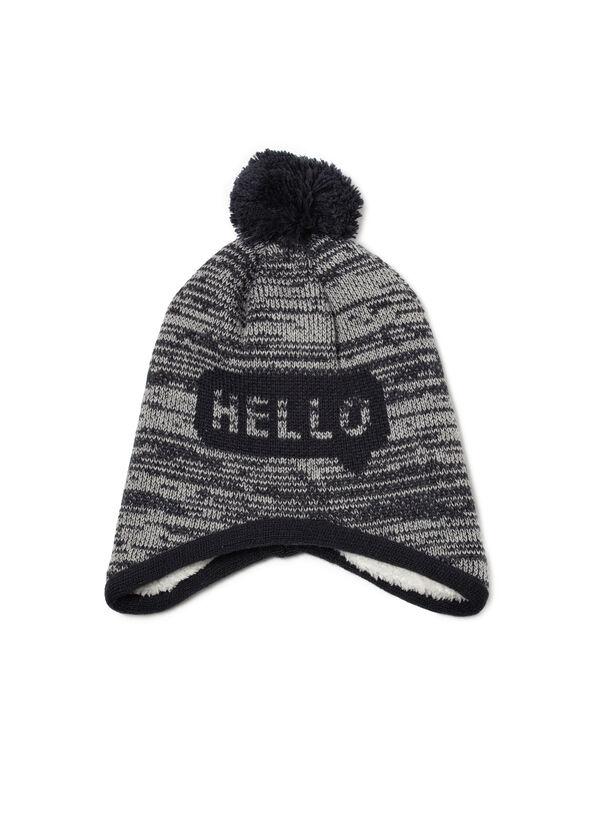 Hat with pompom   OVS