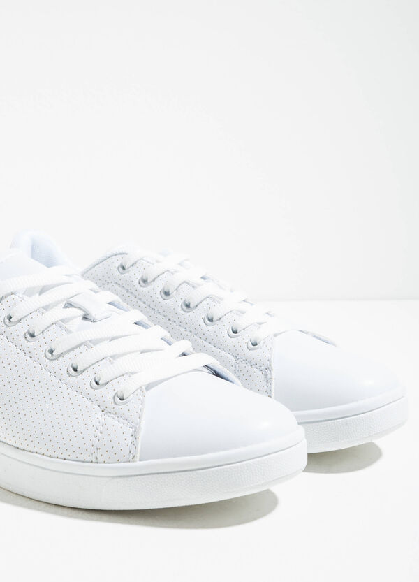 Sneakers with openwork upper | OVS