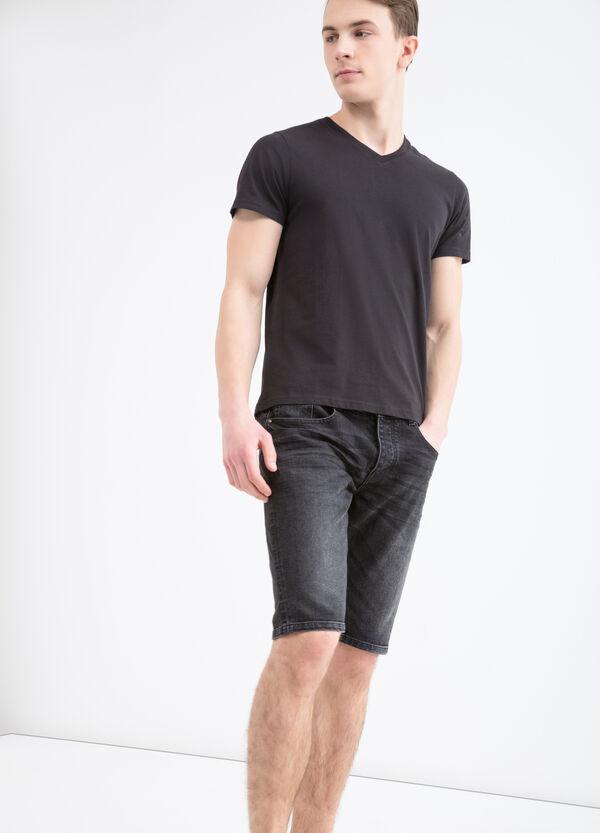 Bermuda in jeans stretch slim fit | OVS