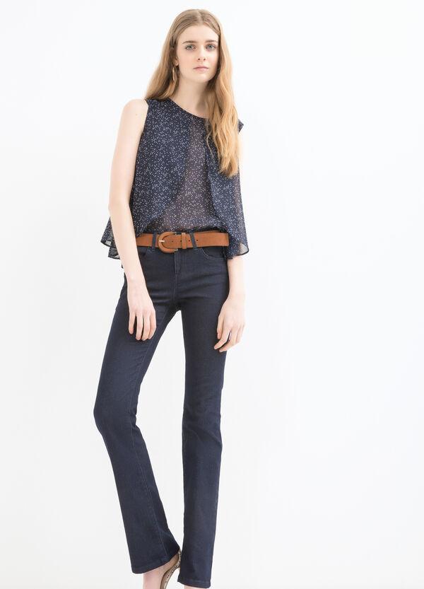 Blusa smanicata in georgette | OVS