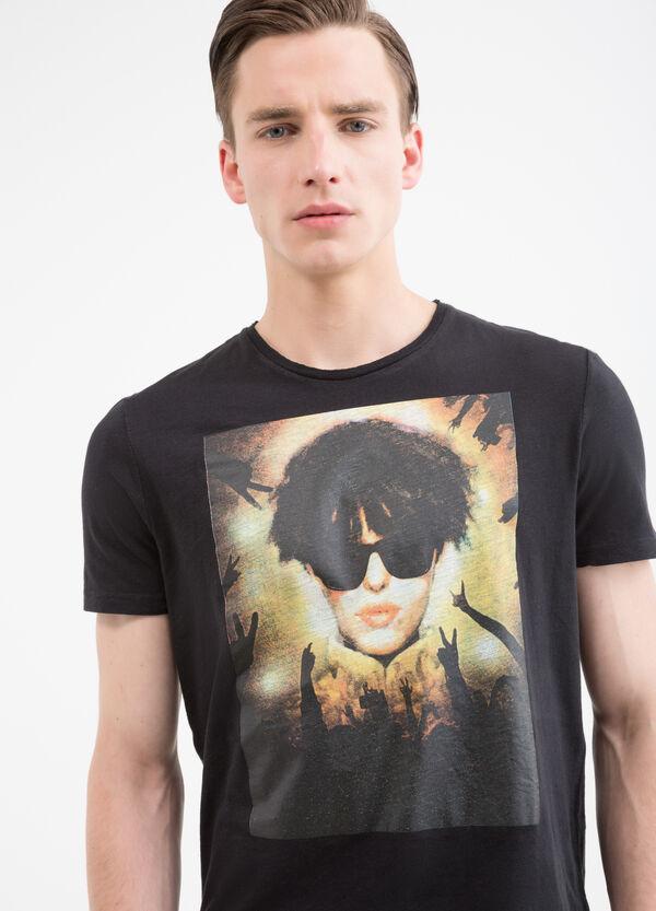 T-shirt in puro cotone con stampa | OVS