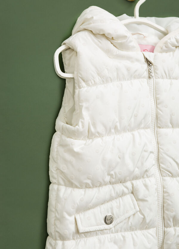 Padded waistcoat with hood   OVS