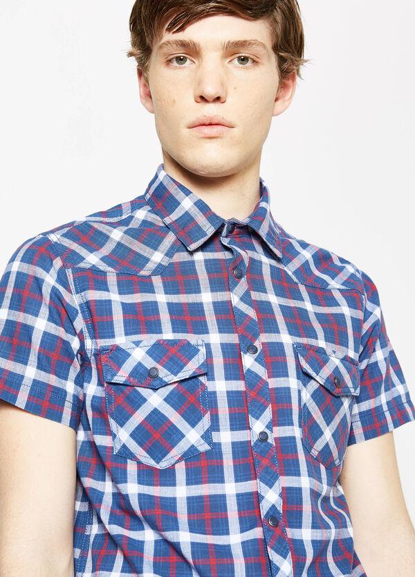 Camicia casual slub di cotone tartan G&H | OVS