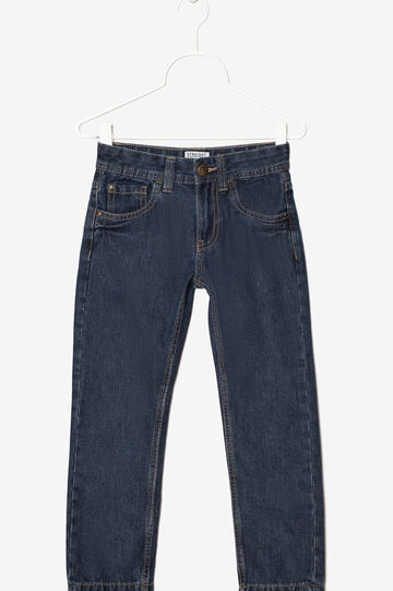 Jeans with zip fastening, Blue, hi-res